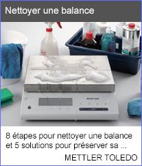 Nettoyer une balance - 8 étapes pour nettoyer une balance et 5 solutions pour  préserver sa propreté. - Mettler Toledo