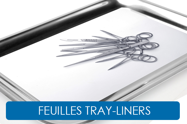 FEUILLES TRAY LINERS
