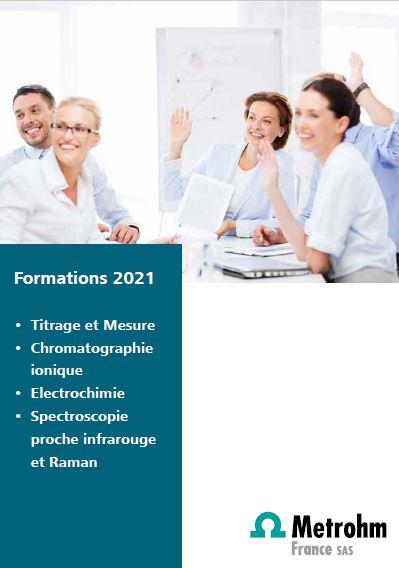 Les formations Metrohm France
