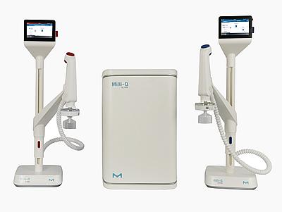 Systèmes de purification d'eau de laboratoire pure et ultra pure Milli-Q® IQ 7003/05/10/15