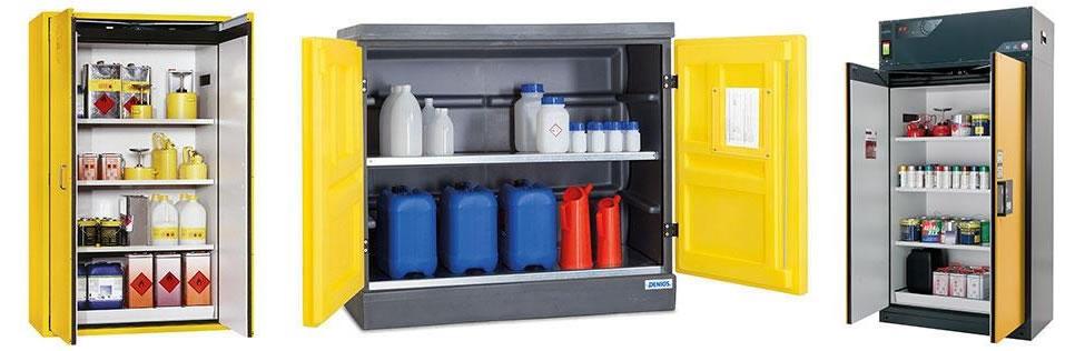 Armoire de stockage pour produits chimiques