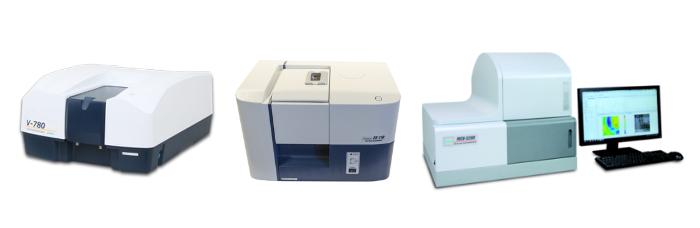 Spectrophotomètres UV-Vis/NIR, Fast Scan et microscopes