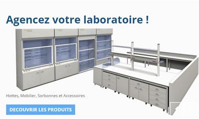 Agencez votre laboratoire