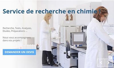 Service de recherche en chimie