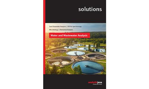 le nouvel e-book sur les solutions d'analyse de l'eau et des eaux usées