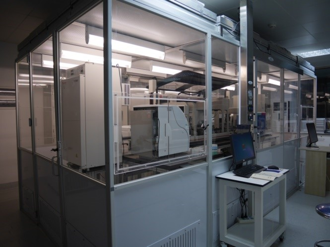Beckmann Coulter High Throughput workstation (robot pipeteur haut-débit)